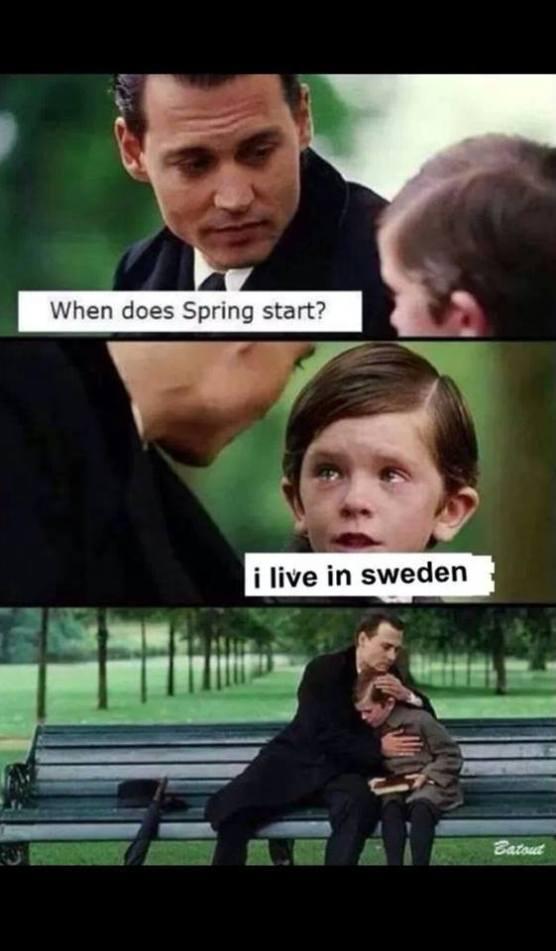 i live in sweden