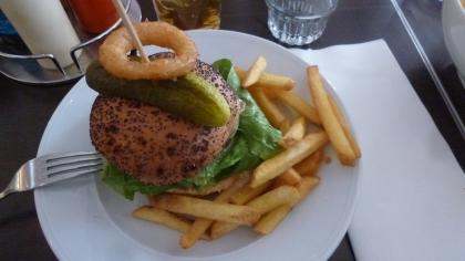 Hamburger dopo il bowling :P