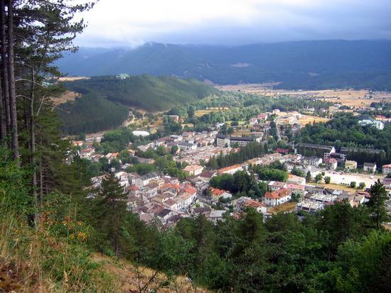 View of Pescasseroli