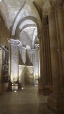 Giochi di luci e ombre nella cattedrale di Santo Domingo de la Calzada