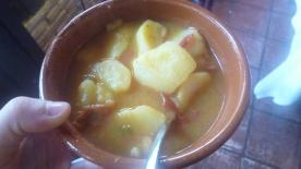 Sopa de chorizo y patatas, o guiso de patatas con chorizo o patatas a la riojana (piatti tipici della regione de La Rioja)...beh che dire, anche questo era buono!