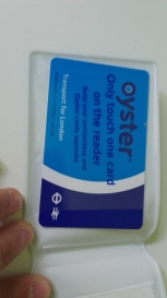 Preparing to London! Up and down Oyster card for public transports in the big city!