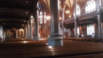 """Allhelgonakyrkan a Lund, """"la chiesa di tutti i Santi"""""""