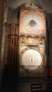 L'orologio astronomico nella cattedrale luterana