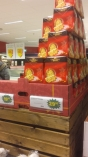 The surprise of finding one of the traditional Italian Christmas cakes - panettone - here in Malmö