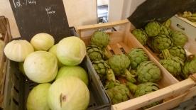 Huge artichokes!