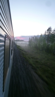 Kiruna, June 2017 -Arctic Polar Circle Train